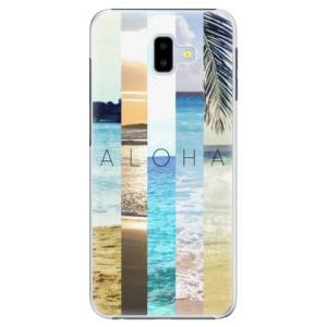 Plastové pouzdro iSaprio Aloha 02 na mobil Samsung Galaxy J6 Plus