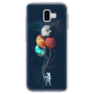 Plastové pouzdro iSaprio Balónky 02 na mobil Samsung Galaxy J6 Plus