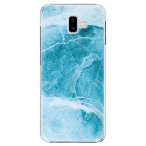Plastové pouzdro iSaprio Blue Marble na mobil Samsung Galaxy J6 Plus