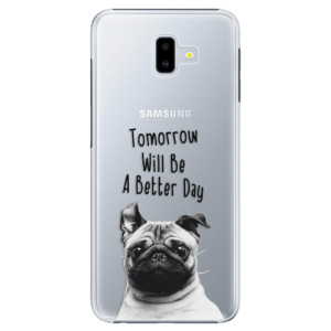 Plastové pouzdro iSaprio Better Day 01 na mobil Samsung Galaxy J6 Plus