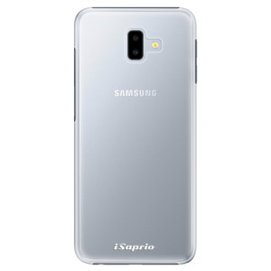Plastové pouzdro iSaprio 4Pure mléčné bez potisku na mobil Samsung Galaxy J6 Plus