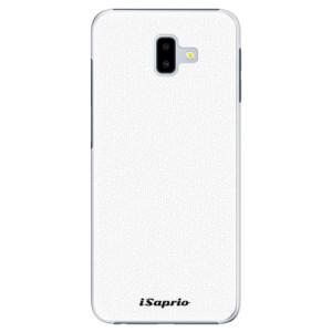 Plastové pouzdro iSaprio 4Pure bílé na mobil Samsung Galaxy J6 Plus