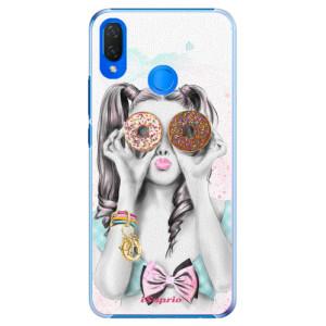 Plastové pouzdro iSaprio Donutky Očiska 10 na mobil Huawei Nova 3i