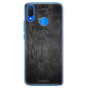 Plastové pouzdro iSaprio Black Wood 13 na mobil Huawei Nova 3i