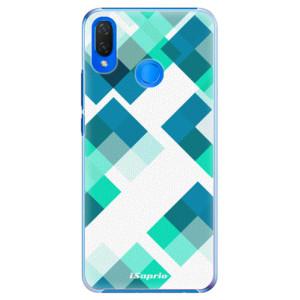 Plastové pouzdro iSaprio Abstract Squares 11 na mobil Huawei Nova 3i