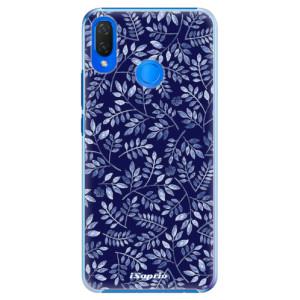 Plastové pouzdro iSaprio Blue Leaves 05 na mobil Huawei Nova 3i