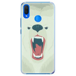 Plastové pouzdro iSaprio Naštvanej Medvěd na mobil Huawei Nova 3i