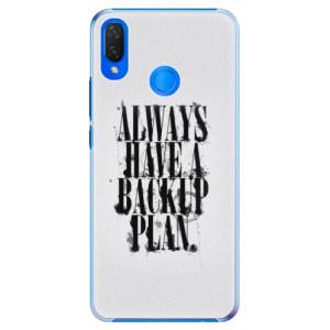 Plastové pouzdro iSaprio Backup Plan na mobil Huawei Nova 3i