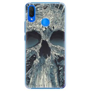 Plastové pouzdro iSaprio Abstract Skull na mobil Huawei Nova 3i