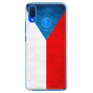 Plastové pouzdro iSaprio Česká Vlajka na mobil Huawei Nova 3i