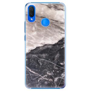 Plastové pouzdro iSaprio BW Mramor na mobil Huawei Nova 3i