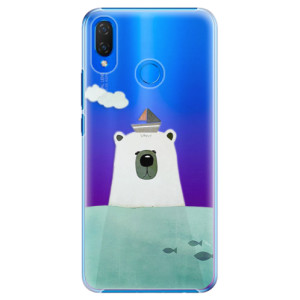 Plastové pouzdro iSaprio Medvěd s Lodí na mobil Huawei Nova 3i