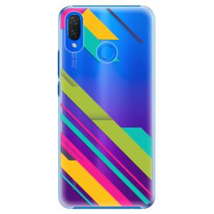 Plastové pouzdro iSaprio Barevné Pruhy 03 na mobil Huawei Nova 3i