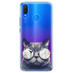 Plastové pouzdro iSaprio Šílená Číča 01 na mobil Huawei Nova 3i