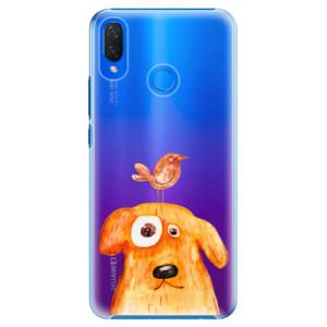 Plastové pouzdro iSaprio Pejsek a Ptáček na mobil Huawei Nova 3i