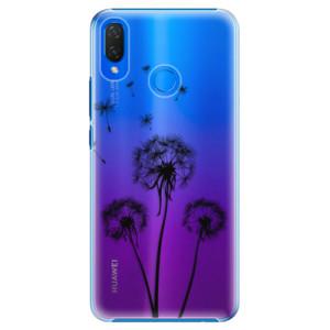 Plastové pouzdro iSaprio Tři Černé Pampelišky na mobil Huawei Nova 3i
