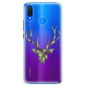 Plastové pouzdro iSaprio Zelený Jelínek na mobil Huawei Nova 3i