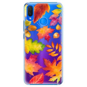 Plastové pouzdro iSaprio Podzimní Lístečky na mobil Huawei Nova 3i