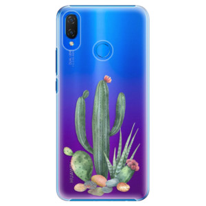 Plastové pouzdro iSaprio Kaktusy 02 na mobil Huawei Nova 3i
