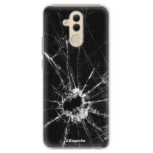 Plastové pouzdro iSaprio Broken Glass 10 na mobil Huawei Mate 20 Lite