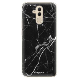 Plastové pouzdro iSaprio Black Marble 18 na mobil Huawei Mate 20 Lite