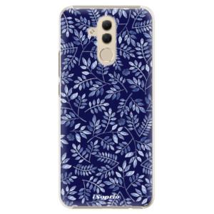 Plastové pouzdro iSaprio Blue Leaves 05 na mobil Huawei Mate 20 Lite