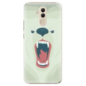 Plastové pouzdro iSaprio Naštvanej Medvěd na mobil Huawei Mate 20 Lite