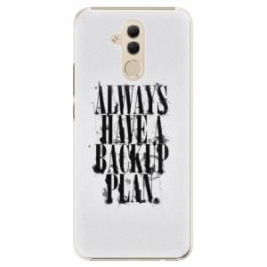 Plastové pouzdro iSaprio Backup Plan na mobil Huawei Mate 20 Lite