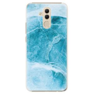 Plastové pouzdro iSaprio Blue Marble na mobil Huawei Mate 20 Lite