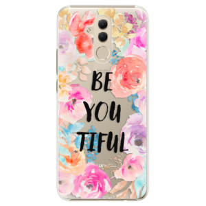 Plastové pouzdro iSaprio BeYouTiful na mobil Huawei Mate 20 Lite