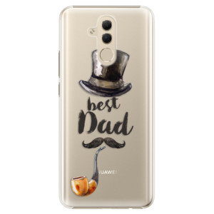 Plastové pouzdro iSaprio Best Dad na mobil Huawei Mate 20 Lite