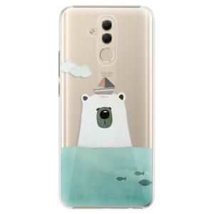 Plastové pouzdro iSaprio Medvěd s Lodí na mobil Huawei Mate 20 Lite