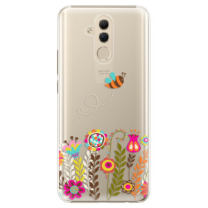 Plastové pouzdro iSaprio Včelka Pája 01 na mobil Huawei Mate 20 Lite