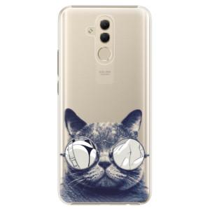 Plastové pouzdro iSaprio Šílená Číča 01 na mobil Huawei Mate 20 Lite