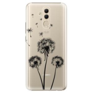 Plastové pouzdro iSaprio Tři Černé Pampelišky na mobil Huawei Mate 20 Lite