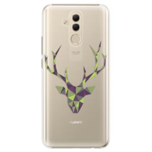 Plastové pouzdro iSaprio Zelený Jelínek na mobil Huawei Mate 20 Lite