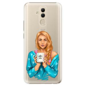 Plastové pouzdro iSaprio Coffee Now Zrzka na mobil Huawei Mate 20 Lite