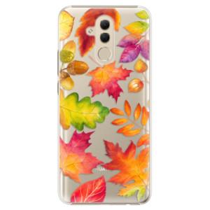 Plastové pouzdro iSaprio Podzimní Lístečky na mobil Huawei Mate 20 Lite