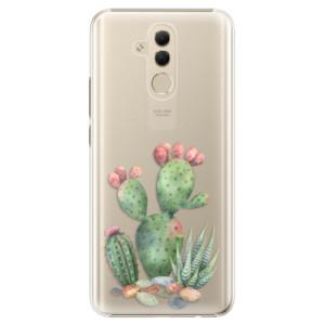 Plastové pouzdro iSaprio Kaktusy 01 na mobil Huawei Mate 20 Lite