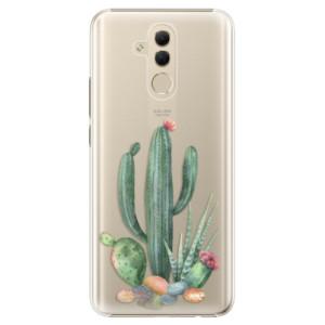 Plastové pouzdro iSaprio Kaktusy 02 na mobil Huawei Mate 20 Lite