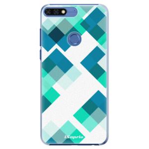 Plastové pouzdro iSaprio Abstract Squares 11 na mobil Honor 7C