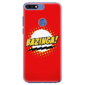 Plastové pouzdro iSaprio Bazinga 01 na mobil Honor 7C