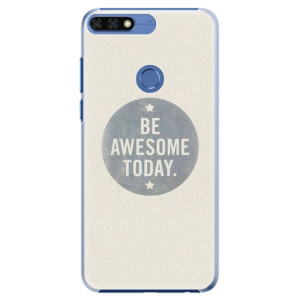 Plastové pouzdro iSaprio Awesome 02 na mobil Honor 7C