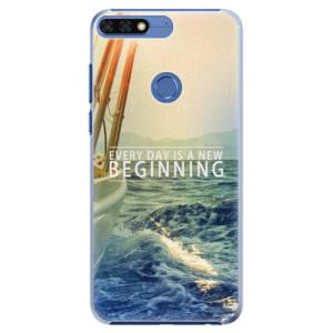 Plastové pouzdro iSaprio Beginning na mobil Honor 7C