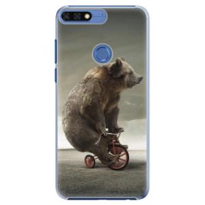 Plastové pouzdro iSaprio Medvěd 01 na mobil Honor 7C