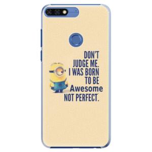 Plastové pouzdro iSaprio Be Awesome na mobil Honor 7C