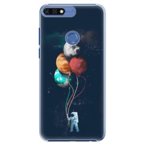 Plastové pouzdro iSaprio Balónky 02 na mobil Honor 7C