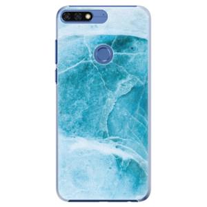 Plastové pouzdro iSaprio Blue Marble na mobil Honor 7C