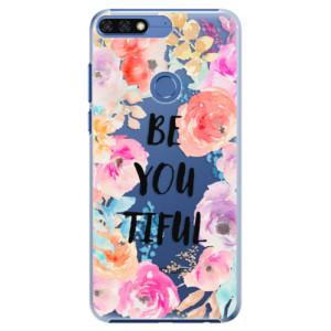 Plastové pouzdro iSaprio BeYouTiful na mobil Honor 7C