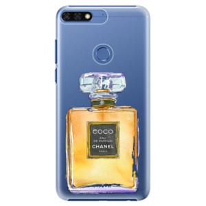 Plastové pouzdro iSaprio Chanel Gold na mobil Honor 7C
